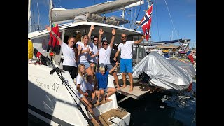 Family Sailing We are crossing the Atlantic with World Cruising Club ARC 2018 (Sailing Queen) ep 10