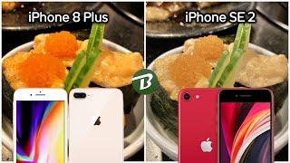 รีวิวกล้อง iPhone 8 Plus refurbished Vs iPhone SE 2