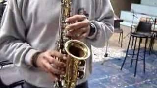 Borgani Curved Soprano Sax