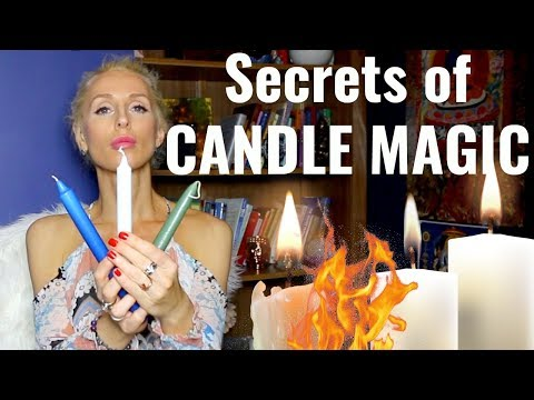 5 COLORS Of CANDLE MAGIC To Manifest Your DREAMS