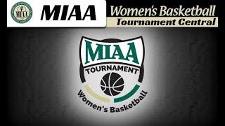 Hope College v. Calvin College - MIAA Women's Basketball Tournament thumbnail