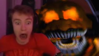 TommyInnit Plays Five Nights At Freddys w/ Technoblade & Quackity And Almost Dies...