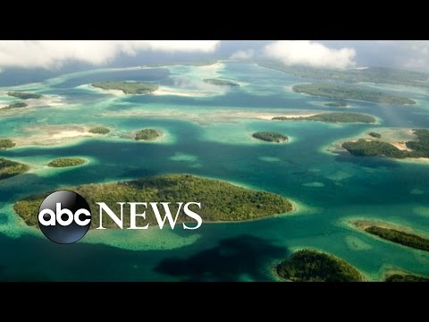 5 Islands Submerged Due to Climate Change