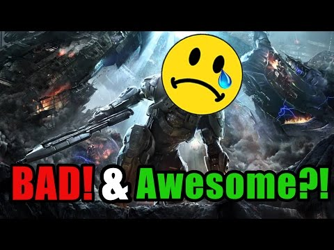 Why is Halo 4's Campaign SO BAD?! And... AWESOME?? (Act Man Review)