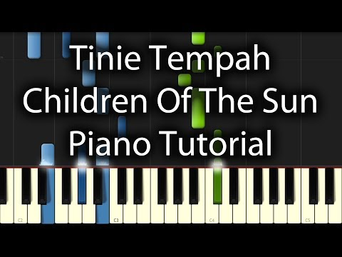 Tinie Tempah - Children Of The Sun Tutorial (How To Play On Piano) feat. John Martin