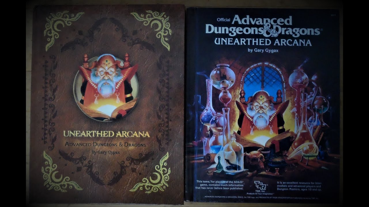 DM's Guild Unearthed Arcana Comparison Video