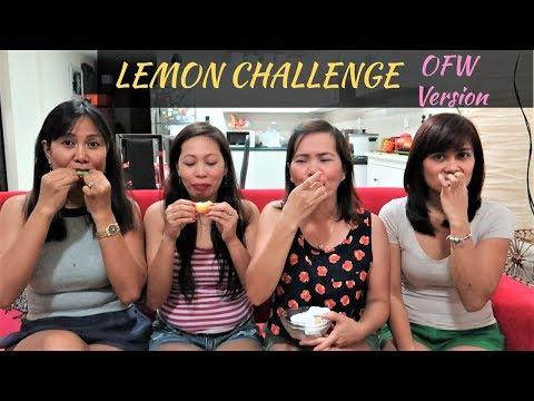 LEMON CHALLENGE// Vlog #15// Laarni B N'style