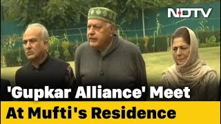 J&K Coalition To Be Led By Farooq Abdullah, Will Use Old State Flag