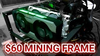 PHP 3,065 / US$ 60 GPU Mining Frame From Online (Lazada) - Unboxing / Rig Build / Crypto Vlog (4K)