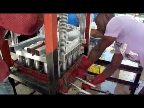 25 Recycled Fuel Briquettes in 82 Seconds in Haiti