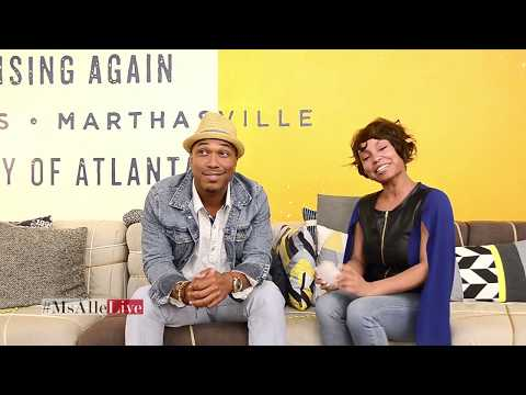 #MsAlleLIVE interviews CREOLE KING MUSIC in Atlanta