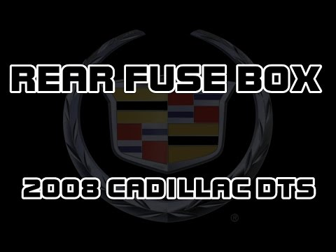 hqdefault ⭐ 2008 cadillac dts rear fuse box youtube  at soozxer.org