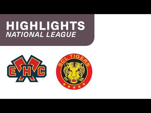 EHC Biel vs. SCL Tigers 4:3 n.P. – Highlights National League