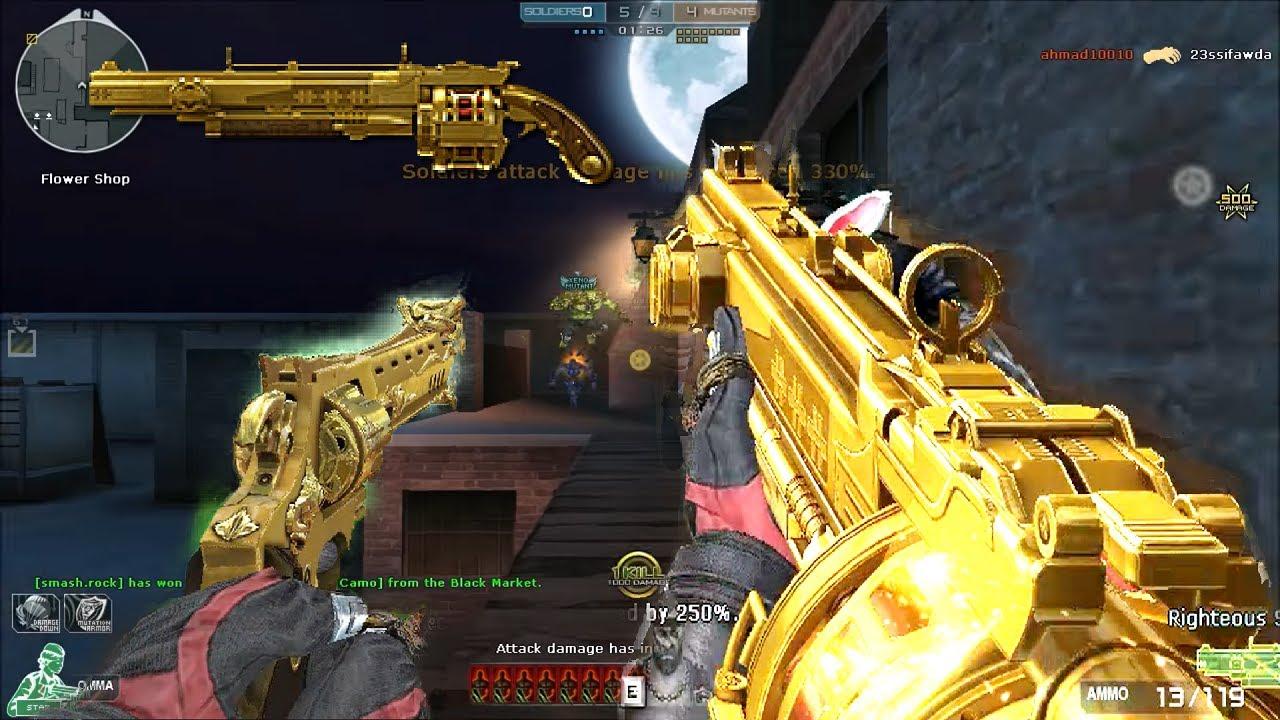 Crossfire NA ( Đột Kích ) 2.0 : Rightteous Gold - Hero Mode X - Zombie V4