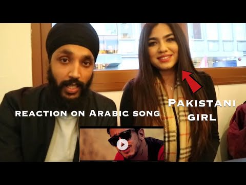 MAL HBIBI MALOU | Arabic Song | Indian Reaction with Pakistani/Kashmiri girl