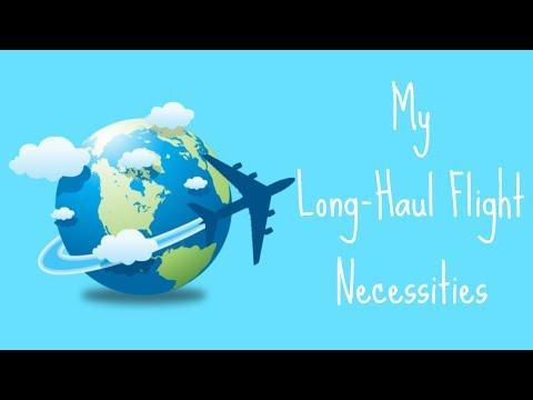 My Long-Haul Flight Necessities