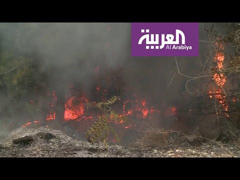 حرائق واسعة تأتي على مناطق شاسعة من لبنان  - نشر قبل 4 ساعة
