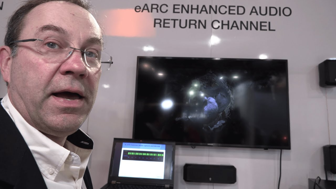 eARC with HDMI 2 1, Enhanced Audio Return Channel at up to 40mbit/s