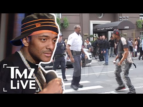 Prodigy: Memorial Ends In Street Fight | TMZ Live
