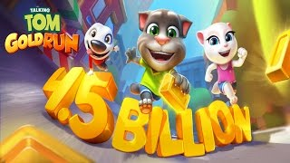 Talking Tom Gold Run (by Outfit7 Limited) - iOS/Android - HD Gameplay Trailer