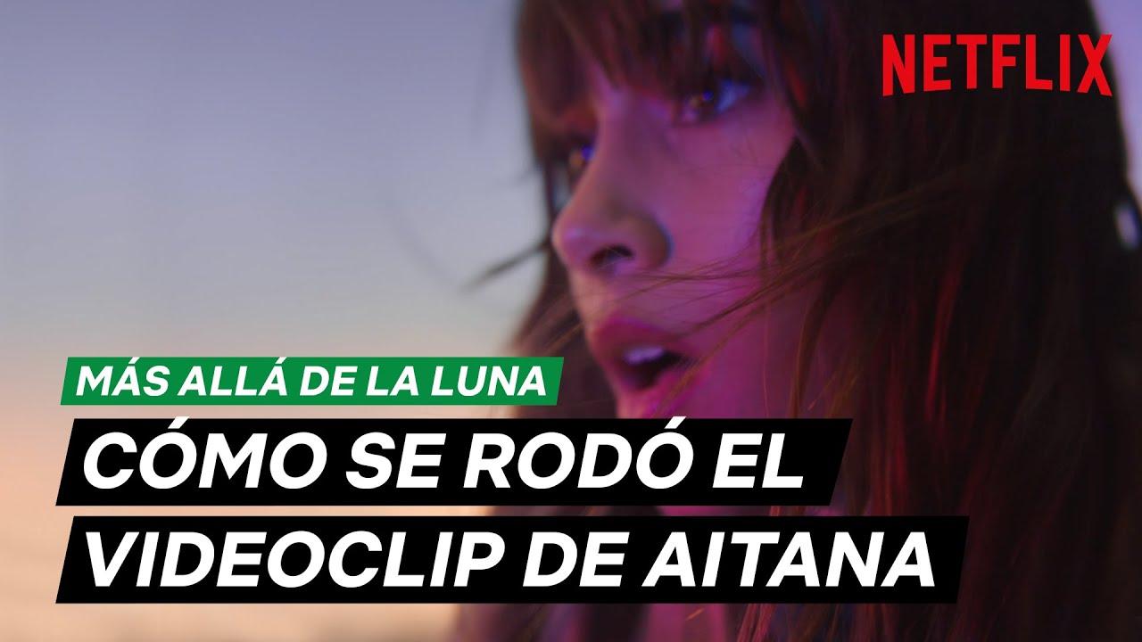 Aitana Detrás De Las Cámaras De Volaré Más Allá De La Luna Youtube