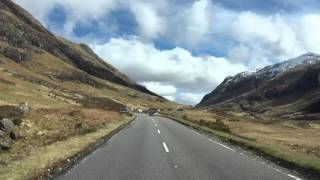 Road Trip through Glencoe. Amazing views..