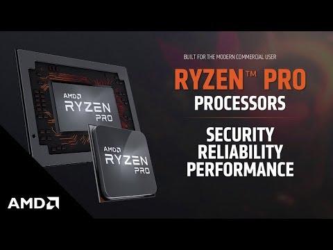 AMD Introduces Ryzen™ Pro Processors with Radeon Vega Graphics Highlights