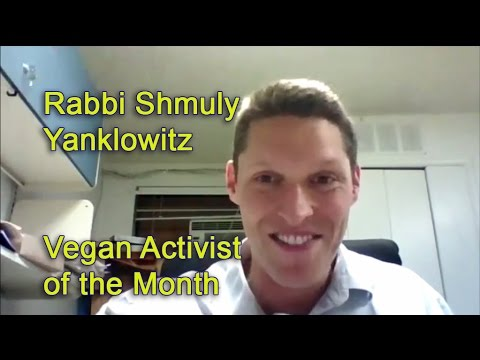 Vegan Rabbi Shmuly Yanklowitz's Interview with The Vegan Woman 2015