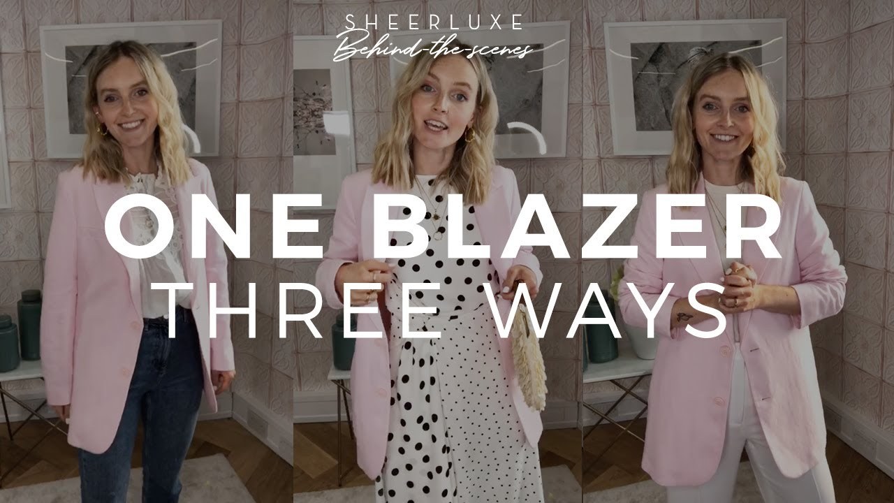 How To Style A Blazer 3 Ways, Style Secrets & A Surprise Visit! | S8 Ep5