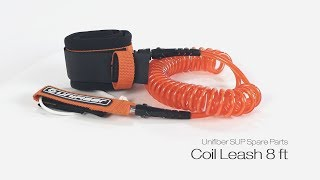 Video: Unifiber Sup Coil Leash 8 ft