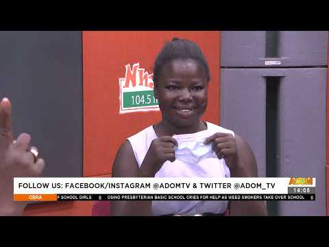 Father and Daughter re-united after waiting for 25 years - Obra on Adom TV (9-8-21)