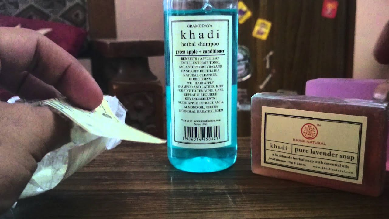 Khadi Naturals Product Review Youtube