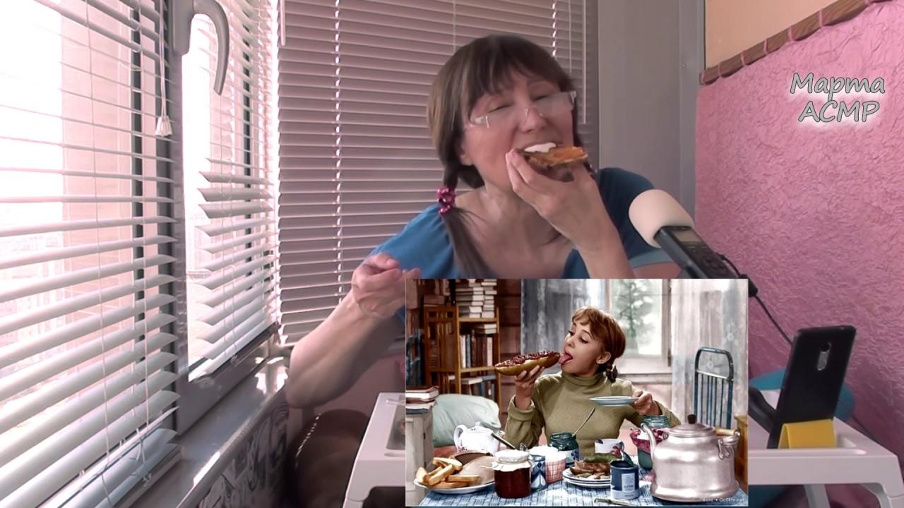Завтракаем с Марго. Сколько я зарабатываю на ютубе. Мукбанг. Яичница и летний пирог с чаем