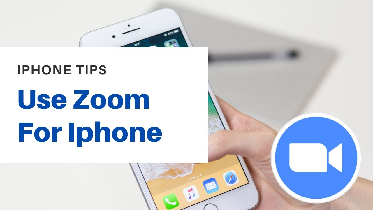 How To Pin Person To Be Seen By All On Zoom For iPhone Tutorial ...