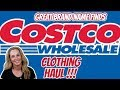 Costco CLOTHING Haul | BRAND Name Clothes