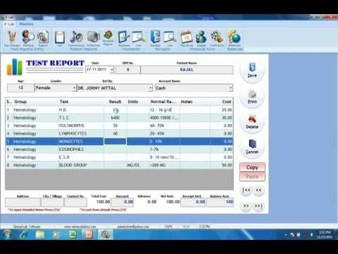 E-Lab: Software For Clinical Labs; www.solversolutions.in Part 2