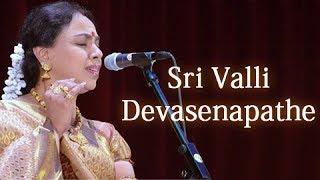 Sri Valli Devasenapathe - Sudha Raghunathan Live - Isai Ragam