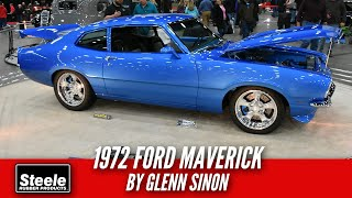 Danny talks to glenn sinon of west suffield, ct about his amazing '72 ford maverick. with maverick, won the steele rubber products master builder a...