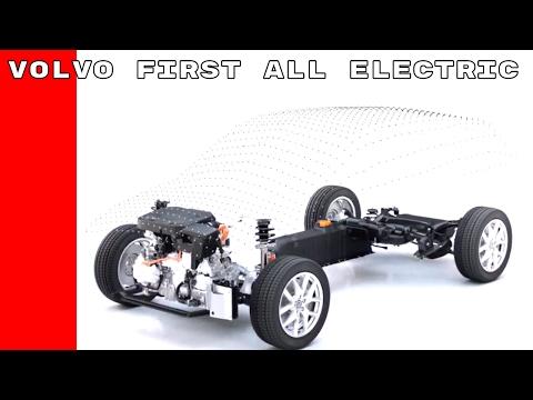 Volvo First All Electric Car CMA Platform