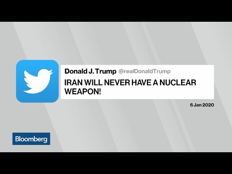 Trump Claims 'Iran Will Never Have a Nuclear Weapon'