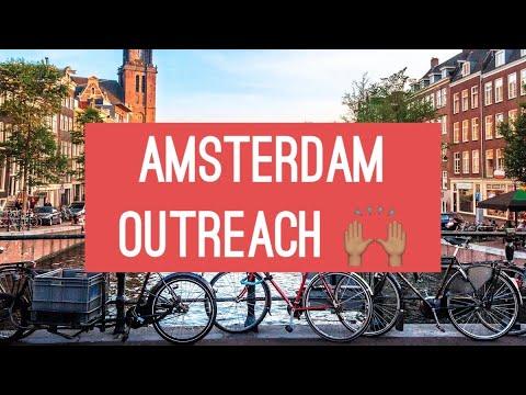 Arjan en Efi Knevel - Amsterdam Outreach (Dam Square)