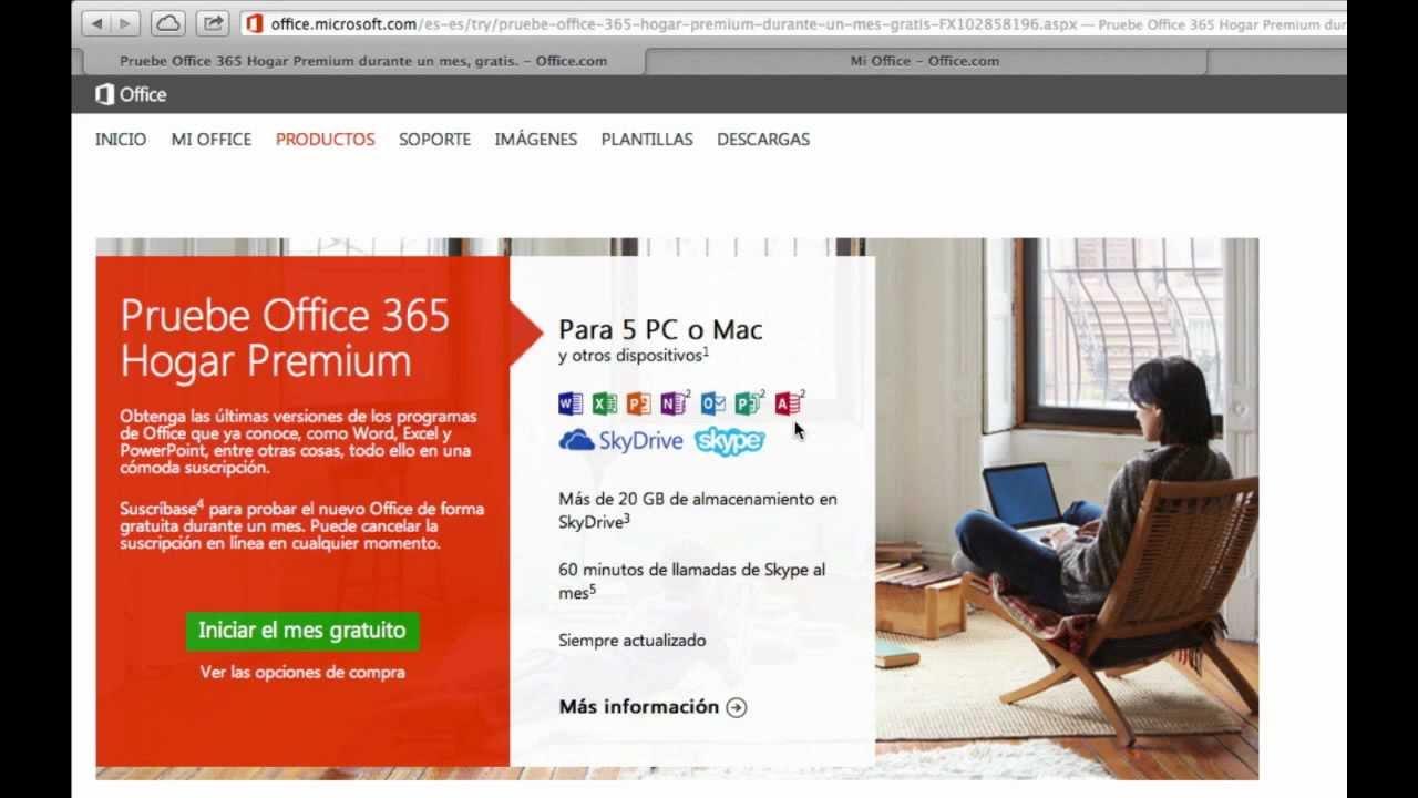 Office 365 Hogar Premium para PC y Mac - YouTube