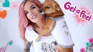 Tweeling Shirt met Dolly maken   Gel-A-Peel Fashion Maker