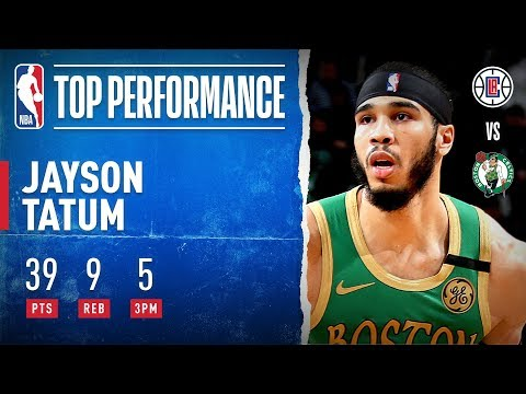 Jayson Tatum GOES OFF for 39 PTS!