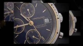 HAMILTON 9304 Chronograph Watch Automatic caliber Valjoux 77