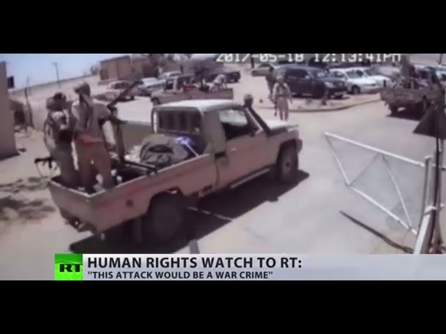 Libya airbase attack 'will inflame further conflict, perhaps reprisal attacks' – HRW
