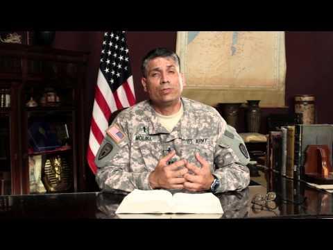 Army Chaplain Spiritual Message