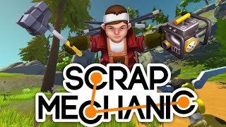 🔴CONSTRUIM CA NEBUNII!🔴Scrap Mechanic Multiplayer!