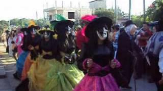 """Xantolo Tantoyuca 2009 Cuadrilla Rastro DIF """"2 de Noviembre"""" 2/3"""