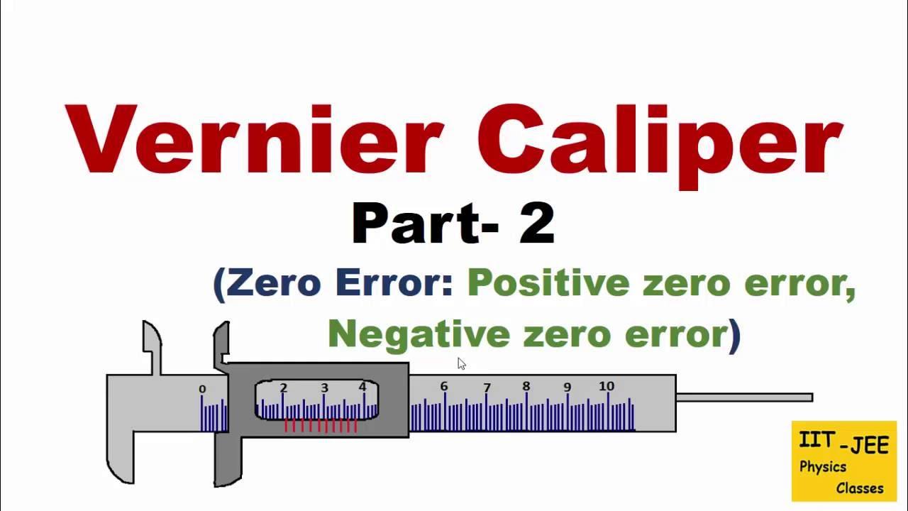 Vernier Caliper  Part
